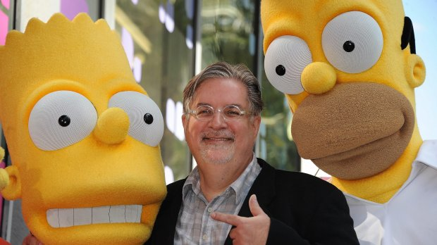 The Simpsons-skaberen Matt Groening