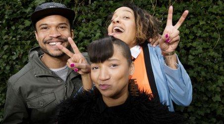 Shaka Loveless, Lucy Love og Barbara Moleko i ny musical